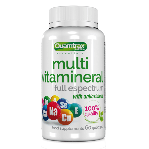Quamtrax Nutrition Multivitamineral – 60 Capsules
