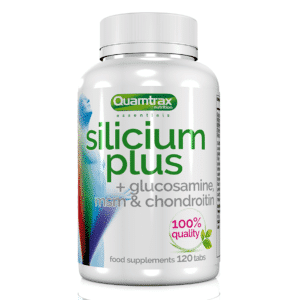 Quamtrax Nutrition Silicium Plus - 120 Tablets
